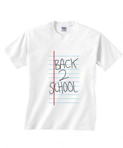 Back To School Notebook Paper T-shirts