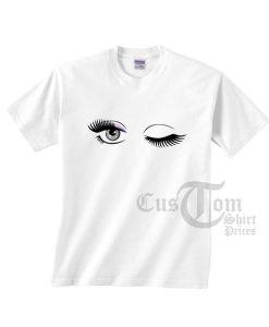 Eyelashes Blink T-shirts