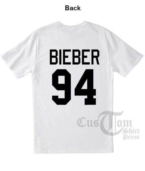 Justin Bieber 94 T shirts
