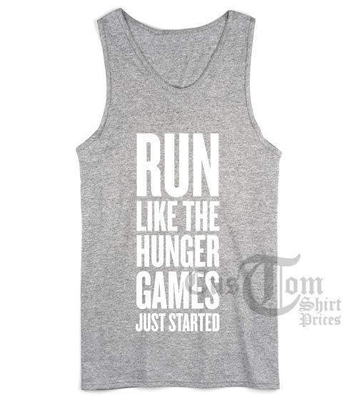 Run Like The Hunger Games Just Started
