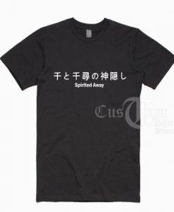 Spirited Away Japanese T-shirts