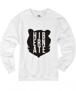 Hibernate Bear Head Sweater Cute Sweatshirt