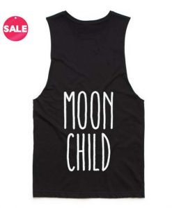 Moon Child Quote Tank Top