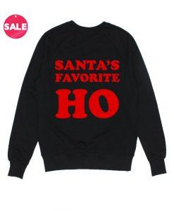 Santa's Favorite Ho Custom Sweater