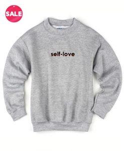 Self Love Logo Custom Sweater