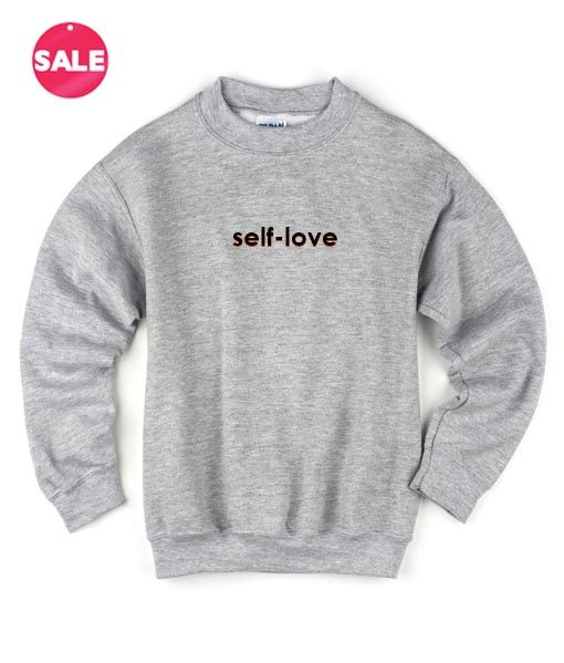 Self Love Logo Custom Sweater
