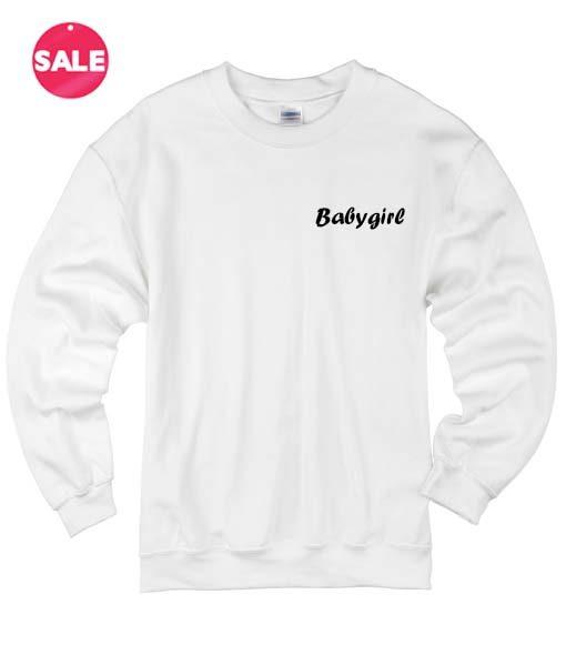 Babygirl Logo Sweater Funny Sweatshirt