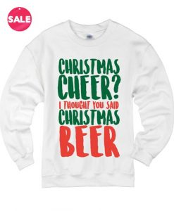 Christmas Beer Ugly Christmas Sweater
