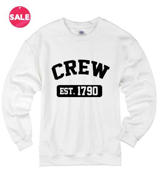 Crew Est 1790 Winter Sweater