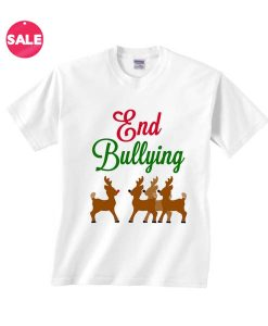 Customized Shirts End Christmas Bullying
