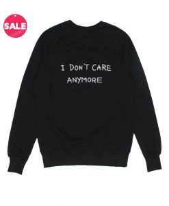 I Don't Care Anymore Winter Sweater