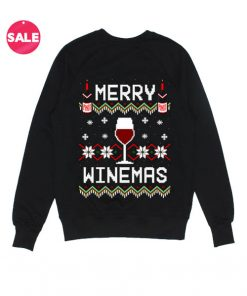 Merry Winemas Ugly Christmas Sweater