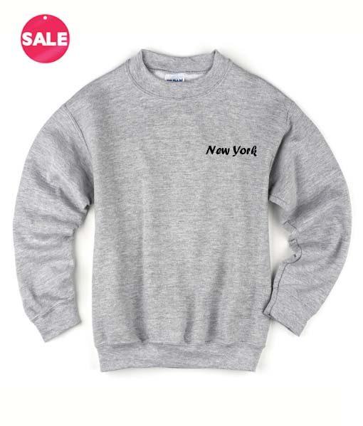 New York Logo Sweater Funny Sweatshirt