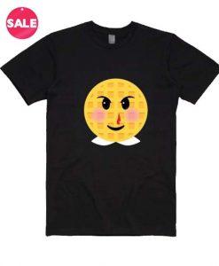 Stranger Things Eleven Eggo Emoji Custom Tees