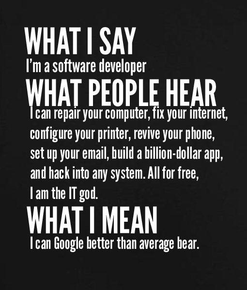 Black 8 510x599 What I Say I'm Software Developer Custom Hoodies Quote