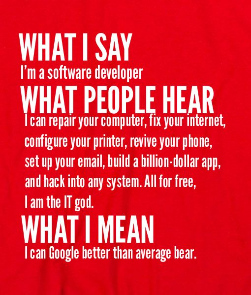 Red 8 510x599 What I Say I'm Software Developer Custom Hoodies Quote