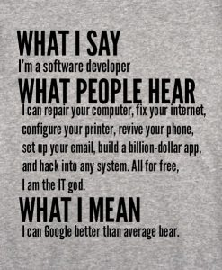 sport grey 8 247x300 What I Say I'm Software Developer Custom Hoodies Quote