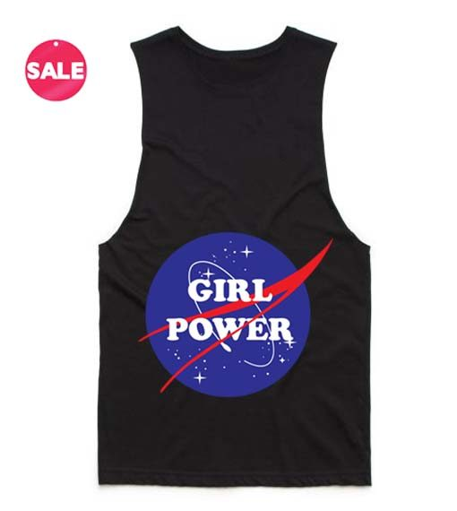 Girl Power Nasa 2 510x570 Girl Power Nasa Tank Top