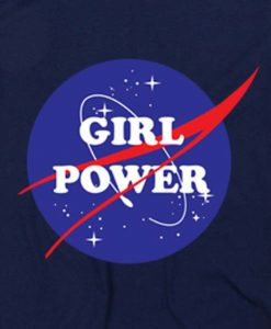 Navy Blue 13 247x300 Girl Power Nasa Tank Top