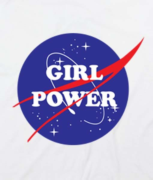 White 19 510x599 Girl Power Nasa Tank Top