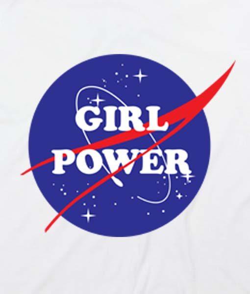 White 20 510x599 Girl Power Nasa Custom Hoodies Quote