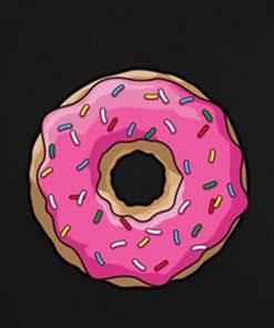 Black 6 247x296 Donut Tank Top Logo