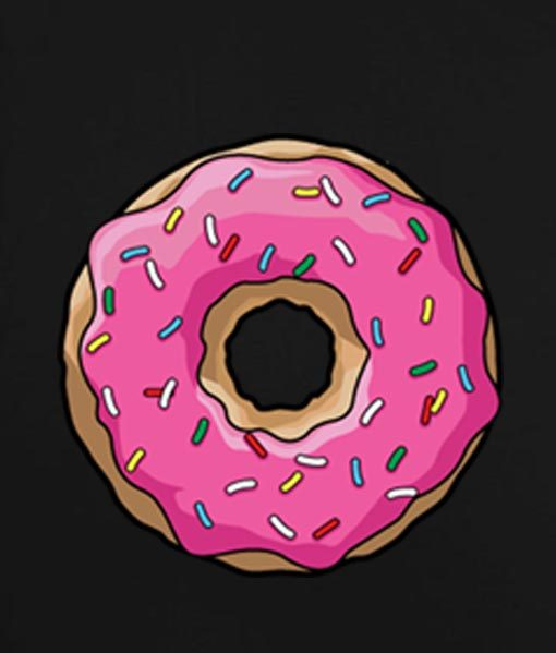 Black 6 510x599 Donut Tank Top Logo