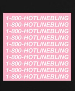 Black 7 247x300 Hotline Bling Drake Tank Top Logo