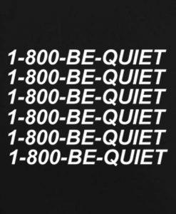 Black 8 247x300 1 800 Be Quiet Tank Top