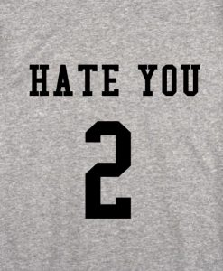 sport grey 3 247x300 Hate You 2 Tank Top