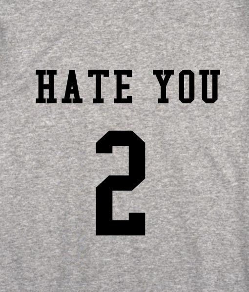 sport grey 3 510x599 Hate You 2 Tank Top