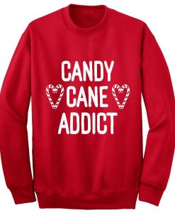 Candy Cane Addict Sweater