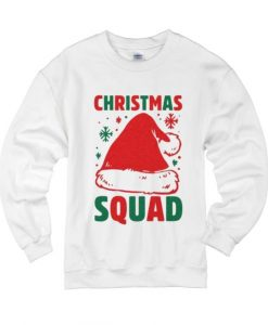 Christmas Squad Baseball Tee Sweater