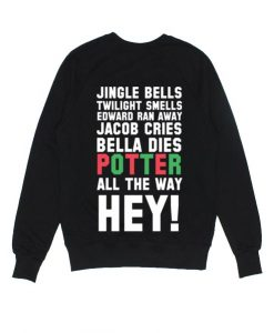 Harry Potter Jingle Bells Twilight Sweater