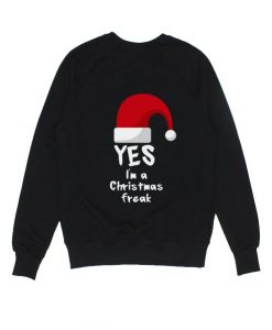 I'm A Christmas Freak Sweater