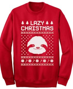 Lazy Christmas Sweater