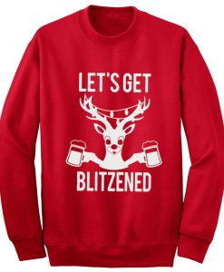 Let's Get Blitzened Sweater