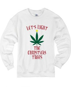 Let's Light The Christmas Tree Sweater