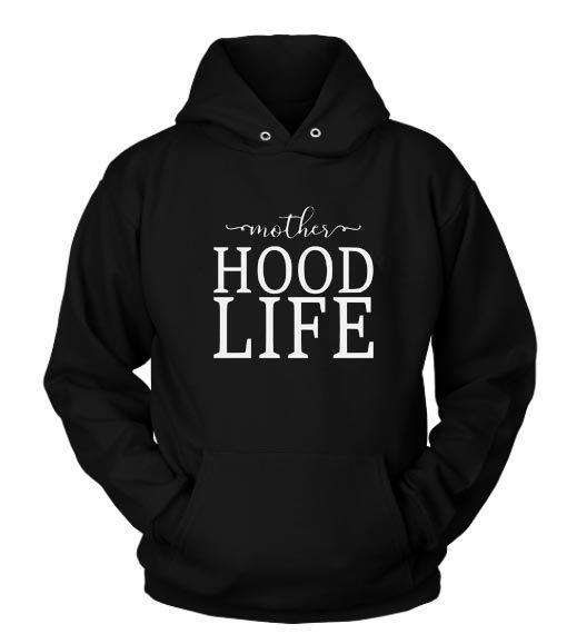 Motherhood Life Custom Hoodies Quote, Custom Hoodies Quote, Shirts With Sayings, Funny Tees, Hoodie Funny Shirts, Funny Hoodie Sweatshirt