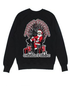 Santa Christmas Is Coming Sweater