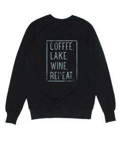 Coffee Lake Wine Repeat Sweater
