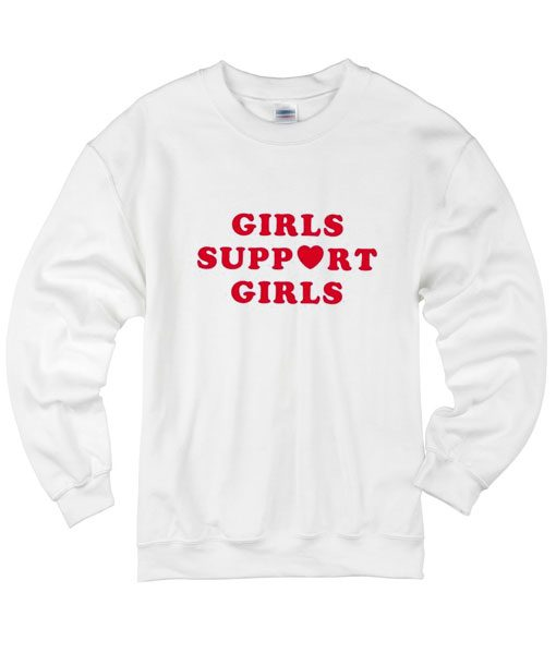 Girls Support Girls Sweater