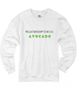 Relationship Status Avocado Sweater