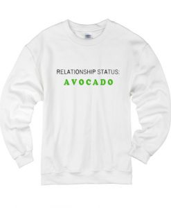 Relationship Status Avocado Sweater