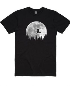 Snowboarding Full T-shirt