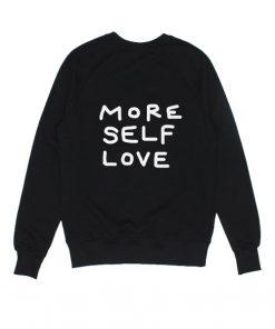 More Self Love Sweater