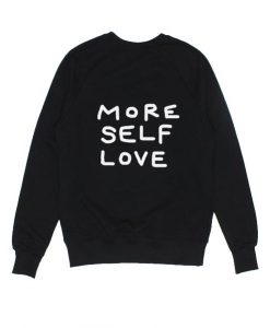 More Self Love Sweater