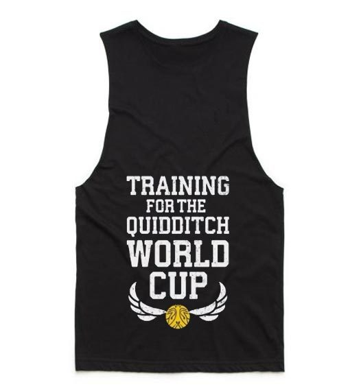 Training For The Quidditch World Cup Summer Tank top