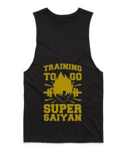 Training to Go Super Saiyan Summer Tank top