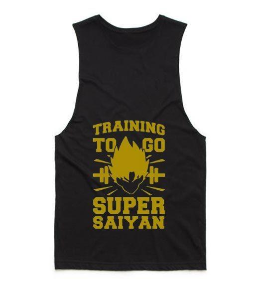 Training to Go Super Saiyan Summer Tank top